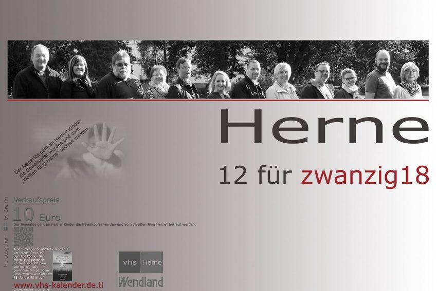 Der VHS-Kalender 2018.