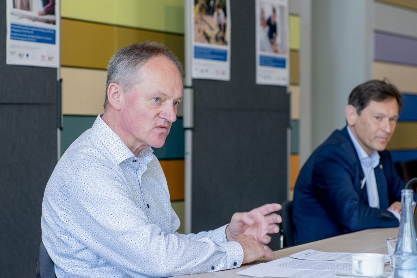 Bernd Zerbe und Dr. Frank Dudda..