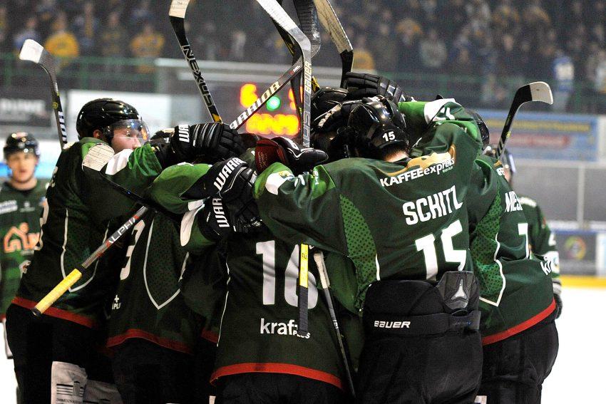 Eishockey Oberliga Nord: HEV - Tilburg Trapers.