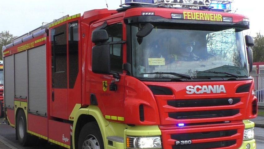 Feuerwehreinsatz durch Gefahrgutverdacht am Wertstoffhof am 14.4.2021.