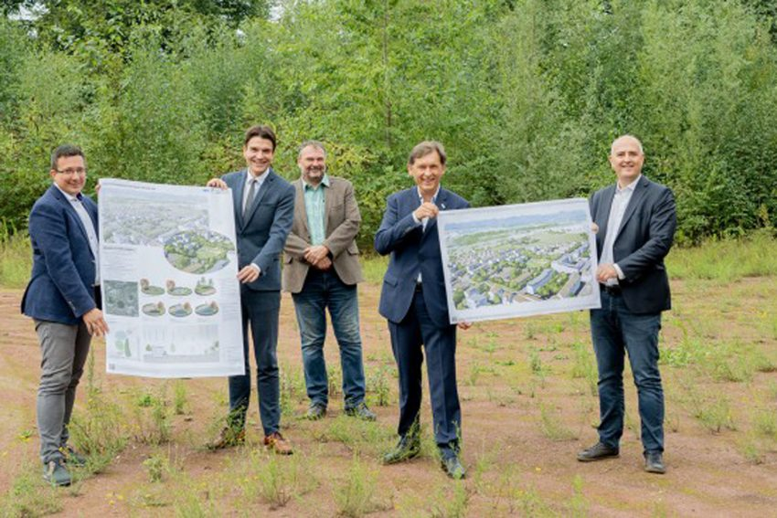 Die Stadtentwicklungsgesellschaft Herne (SEG) entwickelt mit der Emschergenossenschaft auf Sportplatz des SV Fortuna 31 einen Quartierspark.