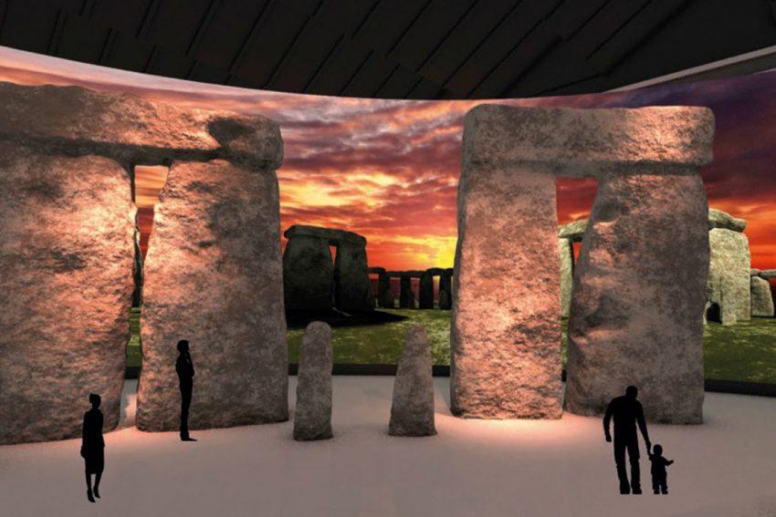 Stonehenge Visualisierung.