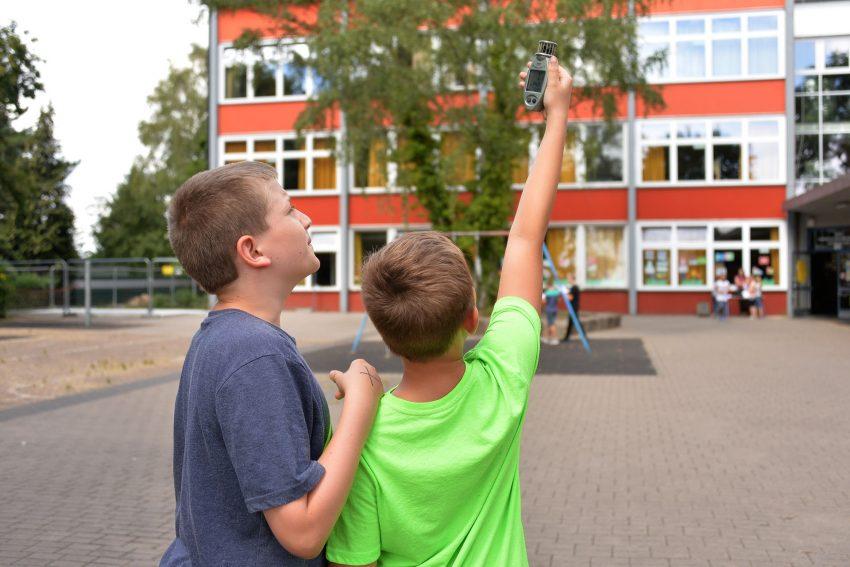 Klimaralley der Grundschule Pantringshof.