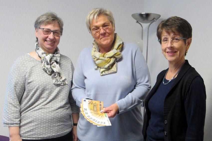 v.l. Barbara Herrmann, Dominique Polen, Barbara Dittrich.
