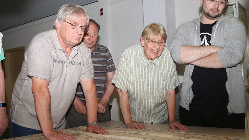 Gerd Biedermann beim Treffpunkt Stadtarchiv im Mai 2018.