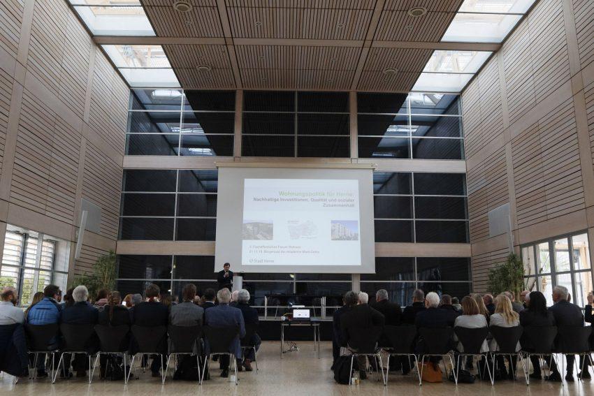 Forum Wohnen in der Akademie Mont-Cenis.