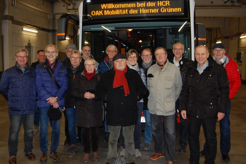 Der OAK Mobilität traf sich zum Informationsaustausch bei der HCR.