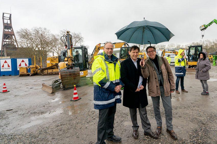 v.l. Rainer Middelmann, Frank Dudda, Dieter Groß
