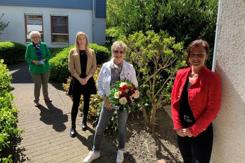 Logopädie-Praxis Ulrike Streib feiert 20-jähriges Jubiläum im DRK Haus in der Bergmannstraße.