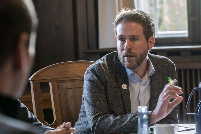 Pressekonferenz zu der Kampagne: Herne mit Respekt: Dennis Neumann.