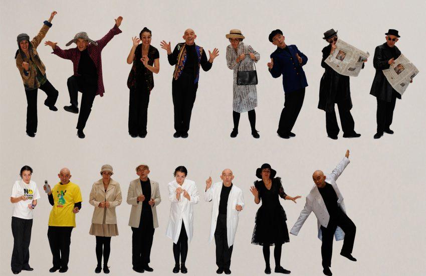 Theaterpädagogische Workshops zu 'YemejHaShoah 2021'.