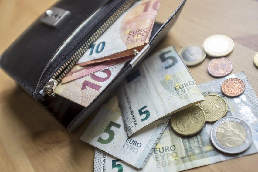 Geldbörse.