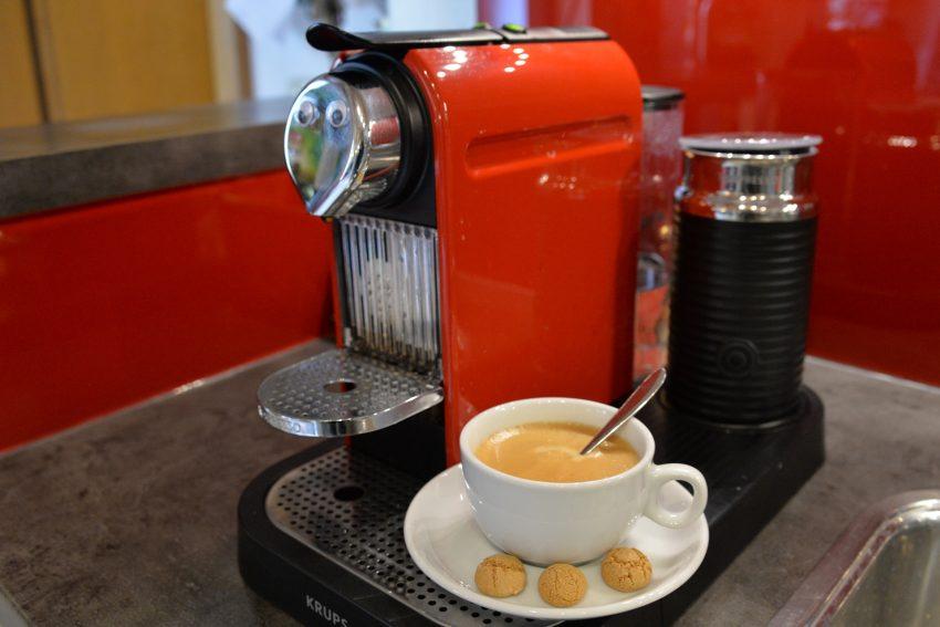 Kaffeemaschine, nur noch mit Abschalt-Automatik.