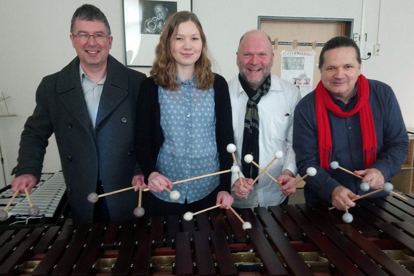 v.l. Thomas Witt, Carlotta Ribbe, Christian Ribbe, Elmar Dissinger.