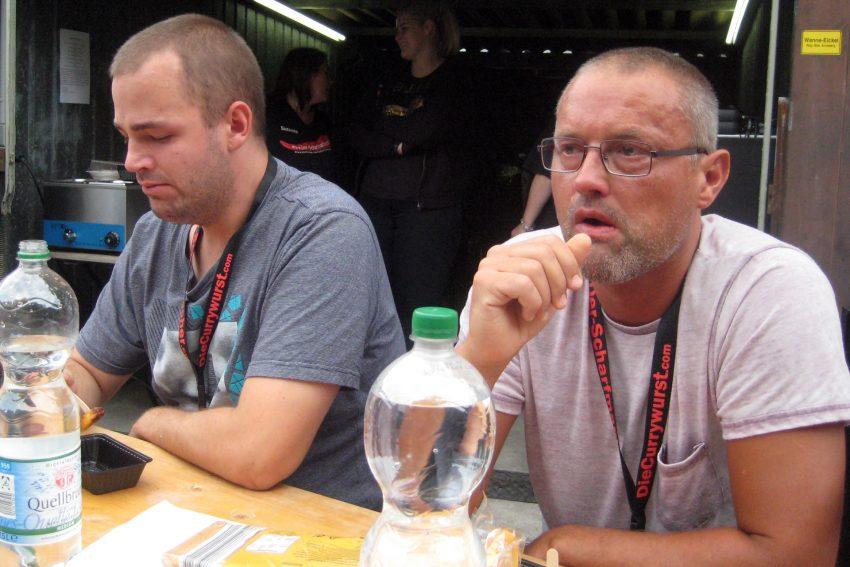 v.l. Sven und Glenn, die Finalisten.