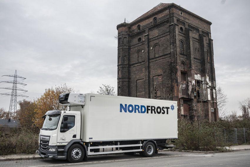Spatenstich auf dem Nordfrost-Gelände in Unser-Fritz.