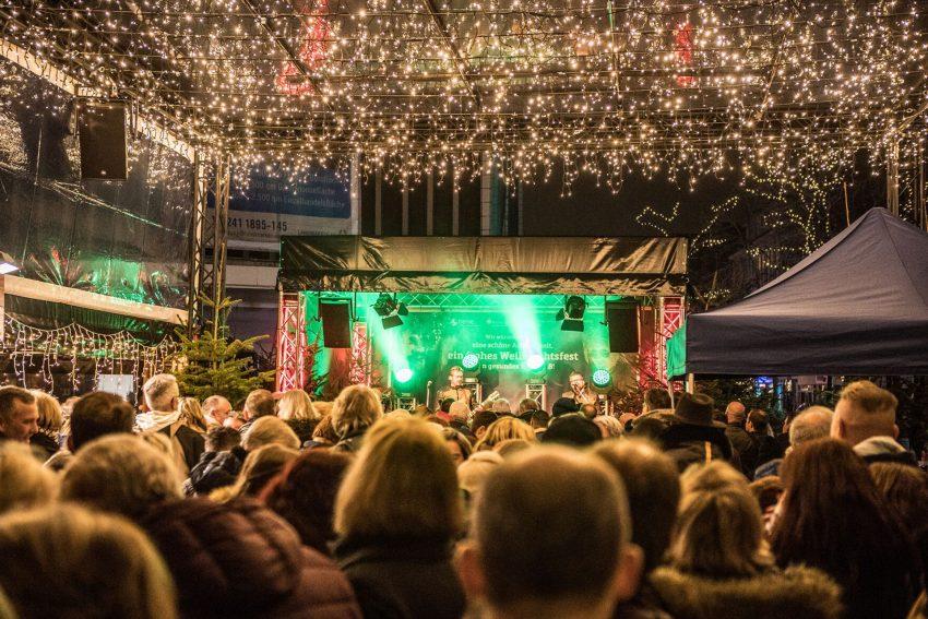 Weihnachtsmarkt Eröffnung in der Herner City, Robert-Brauner-Platz, 14.11.2019.