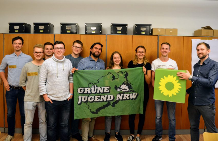 Grüne Jugend startet neu.