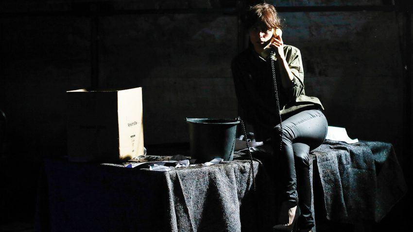 Das gute alte Telefon feiert durch das Rottstr 5 Theater sein Revival mit