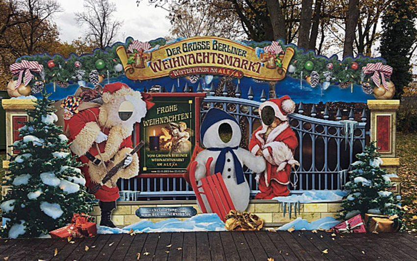 Der Berliner Weihnachtsmarkt auf Crange.