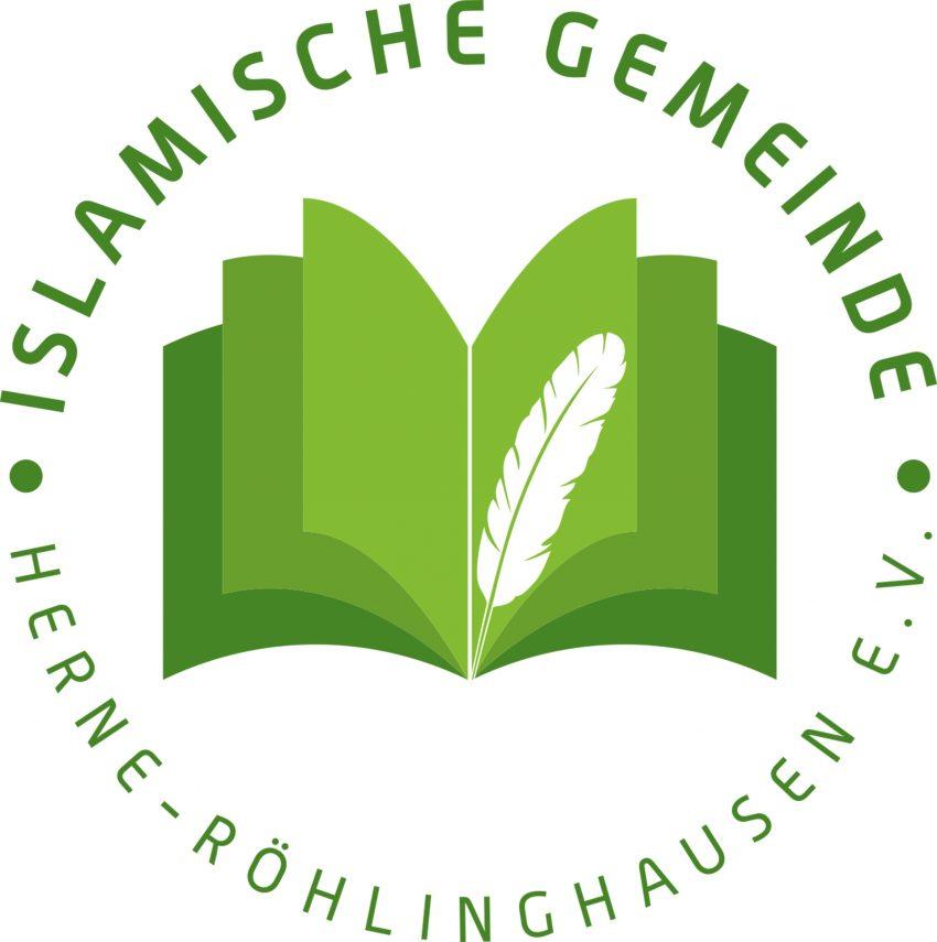 Logo der Islamischen Gemeinde Röhlinghausen.