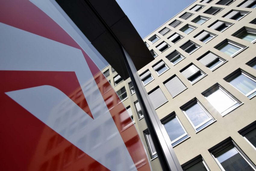Das neue Jobcenter an der Koniner Straße 4.