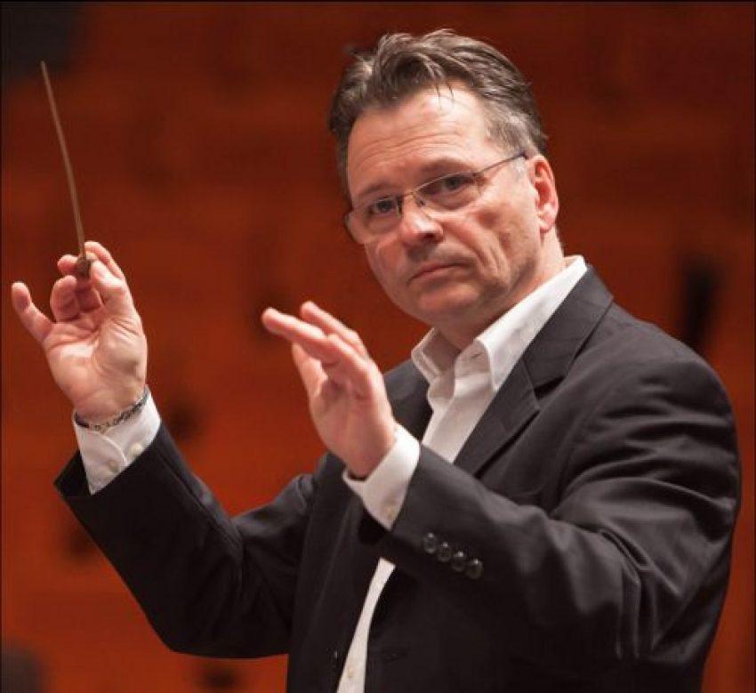 Dirigenten Hans Jaskulsky.