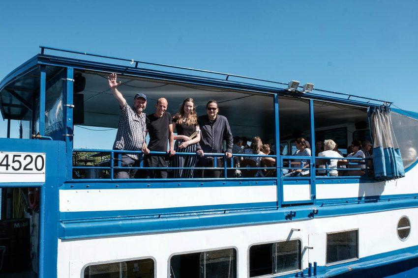 ED3 auf dem Kulturschiff