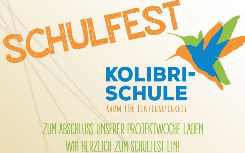 Projektwoche und Schulfest der Kolibrischule.