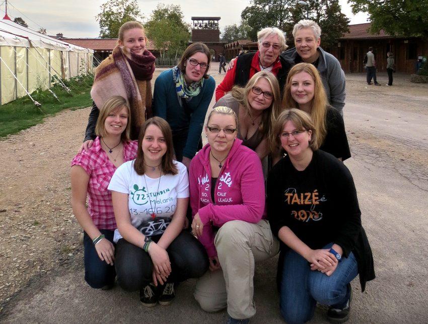 Die Reisegruppe aus dem Dekanat Emschertal in Taizé.
