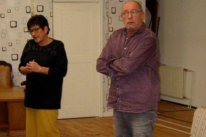100 Jahre Fidele Horst: Annette Holz und Dietmar Kraschewski.