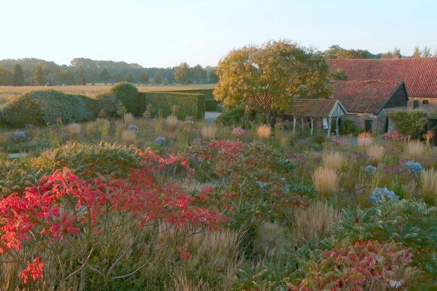 Der niederländische Gartenkünstler und Landschaftsarchitekt Piet Oudolf.