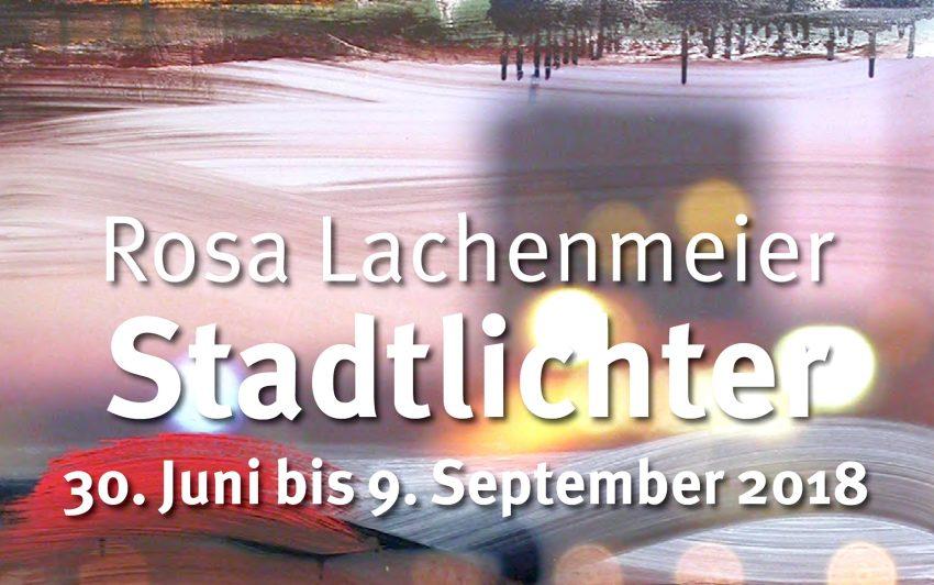 Rosa Lachenmeiers Stadtlichter (Ausschnitt)