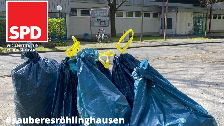 15 solcher Müllsäcke sammelten die Verantwortlichen.