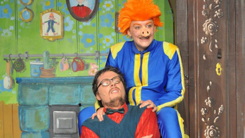 Das Sams als Kindertheater.