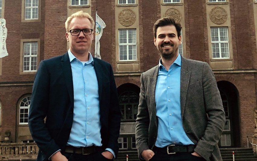 v.l. Hendrik Bollmann, Jan Boneberger.