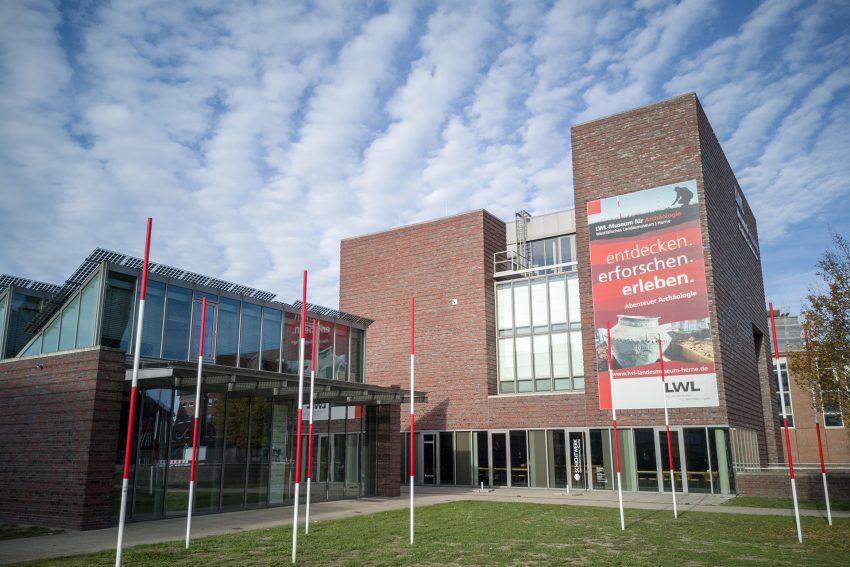 Das Museum für Archäologie des Landschaftsverband Westfalen-Lippe am Europaplatz in Herne (NW), am Dienstag (06.11.2018).