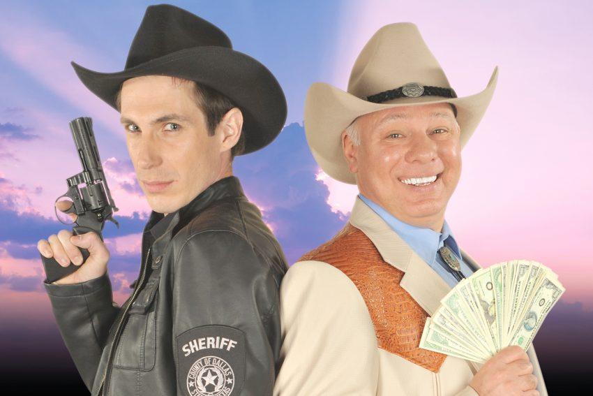 Coole Sprüche, Gemeinheiten, gepfefferte Dialoge und skrupelloser Betrug: Der Dallas Mord.