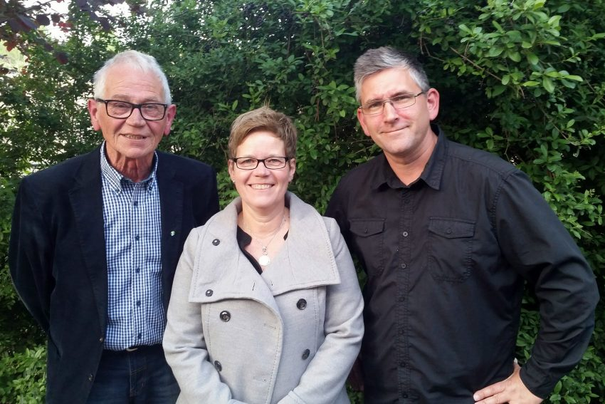 v.l. Walter Hanstein, Andrea Ellerbrock, Jörg Fromm.