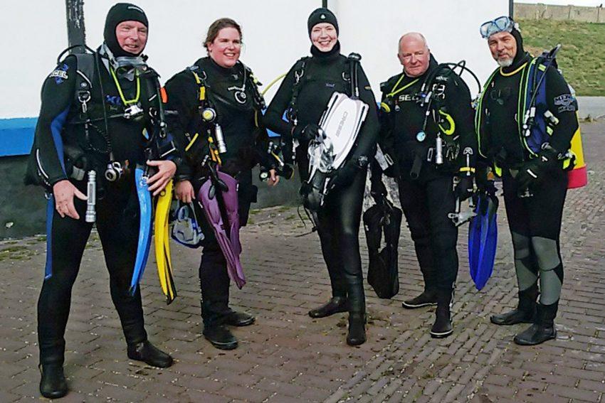 Die Herner Grauwale in Holland.