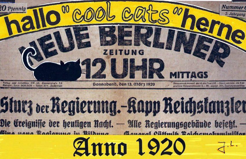 Die cool cats zum Kapp-Putsch.