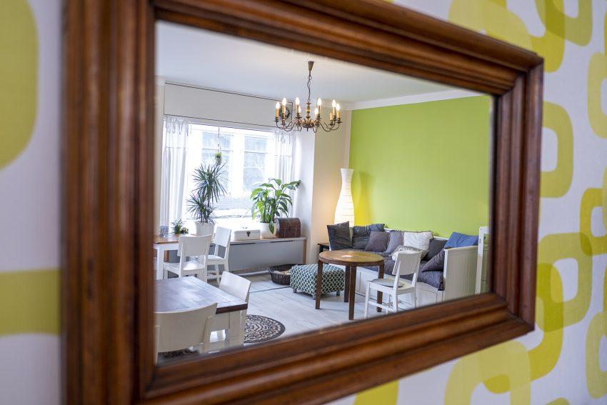 Das neu eröffnete Cafe Desaster an der Mont-Cenis-Straße 26 in Herne (NW), am Donnerstag (18.06.2020).