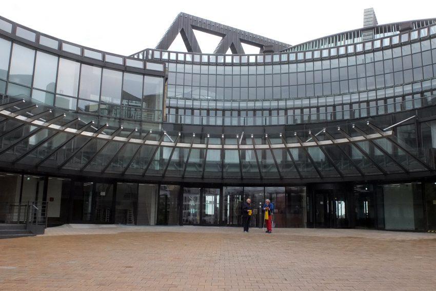 Düsseldorfer Landtag - außen.