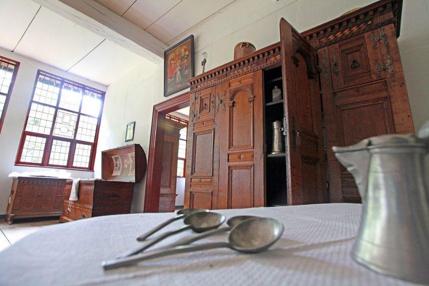Die Räume wurden teilweise neu eingerichtet, so wie hier der Saal.