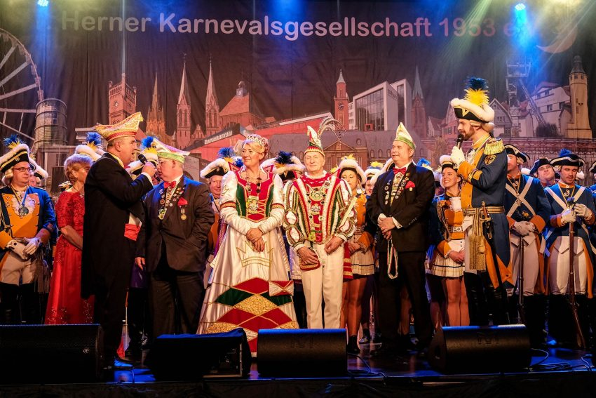 Prunksitzung der 1. HeKaGe im Kulturzentrum Herne.