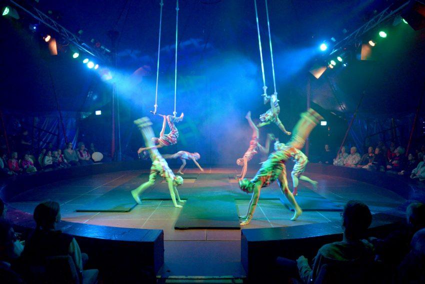 Premiere 2015 im Circus Schnick Schnack.