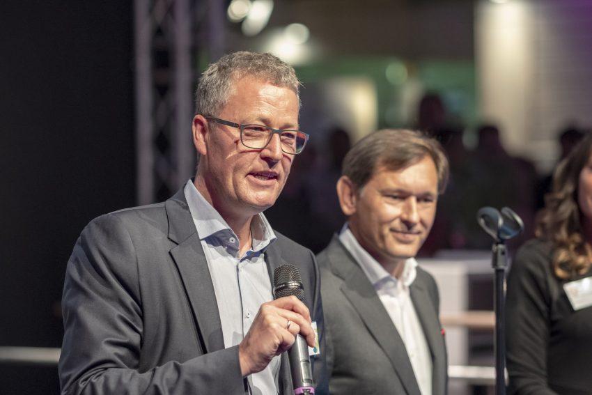 v.l. Rochus Wellenbrock, Frank Dudda.
