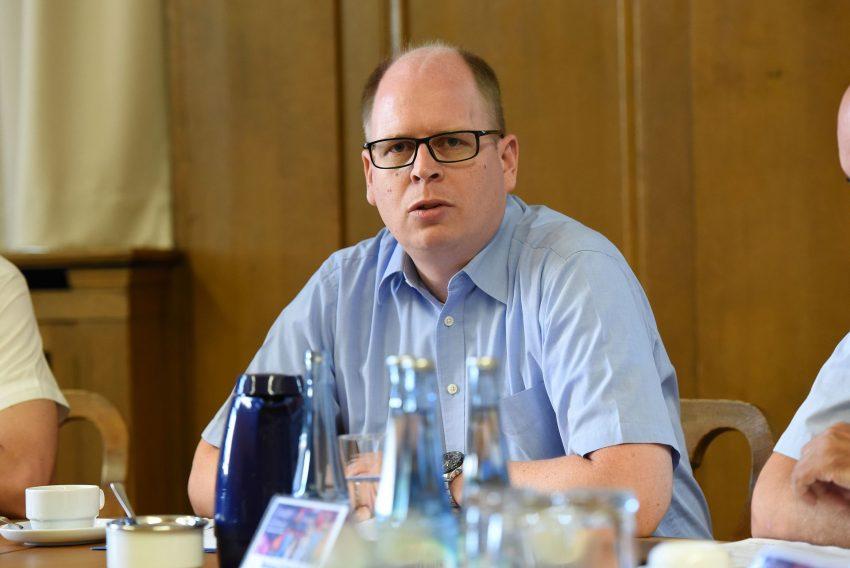 Johannes Chudziak zur Sicherheit auf der Cranger Kirmes 2018