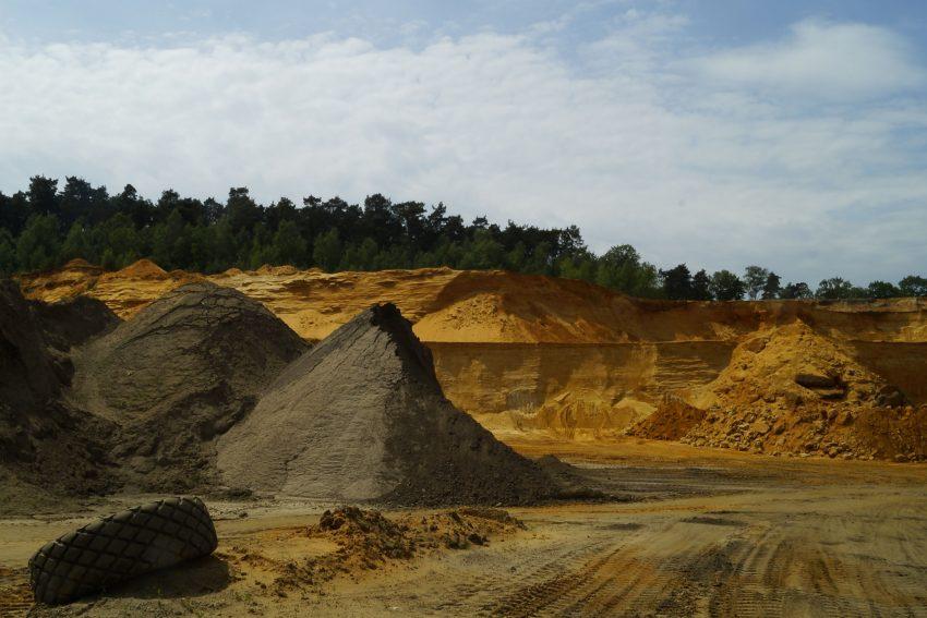 Sandgrube in Dorsten.