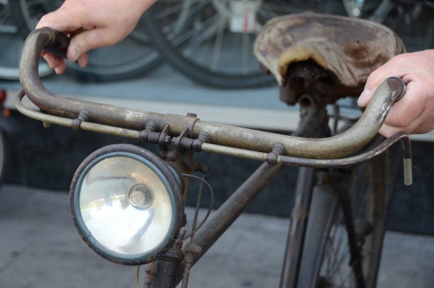 Altes Fahrrad.